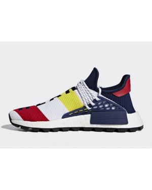 BBC x Pharrell Williams x Adidas NMD Hu Rouge/Multicolore BB9544