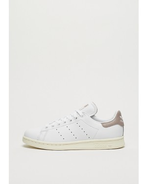 online retailer 59b5d ca9a3 Adidas Stan Smith Femme Cracked Leather BlancheBlancheGris CQ2821 ...