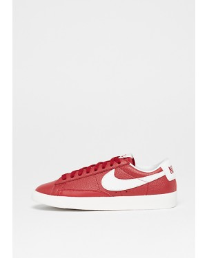 sports shoes 49611 a5f27 Nike Wms Blazer Low Premium Rouge Blanche-Rouge-Beige 454471-601 ...