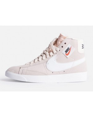detailed look 07f20 74f2a Nike Femme Blazer Mid Rebel XX Rose Blanche-Noir-Crimson Tint BQ4022- ...