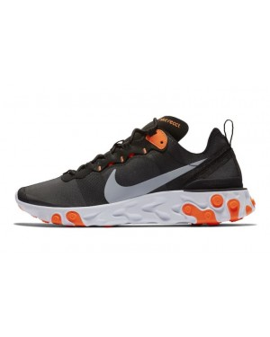 Nike React Element 55 Noir/Gris-Orange-Blanche BQ6166-006