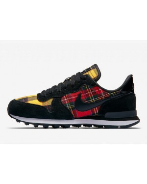 Nike Internationalist Noir/Rouge-Jaune-Noir AV8221-001