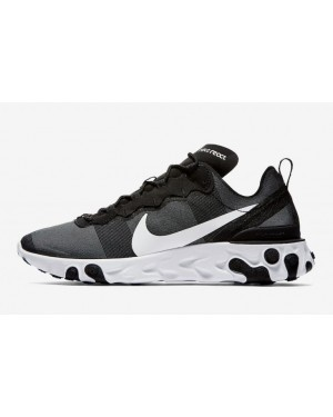 Nike React Element 55 Noir/Blanche BQ6166-003