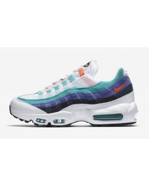 Nike Air Max 95 Blanche/Flash Crimson-Hyper Jade AV7939-100