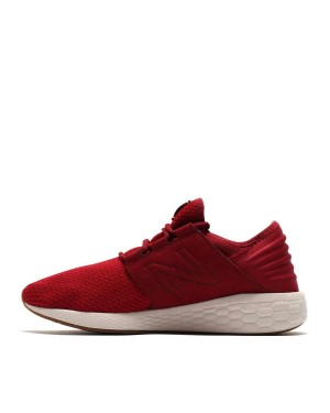 New Balance Fresh Foam Cruz V2 Nubuck Homme Rouge MCRUZNR2