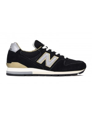 New Balance 996 Made in USA Homme Chaussures Noir ML996EK