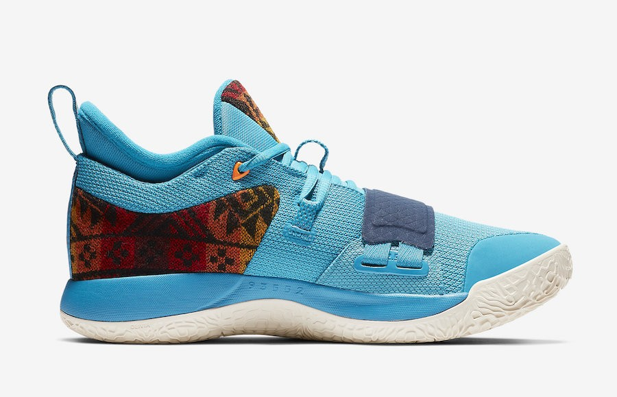 Nike PG 2.5 'Pendleton' Multi-Color/Bleu CI0294-900