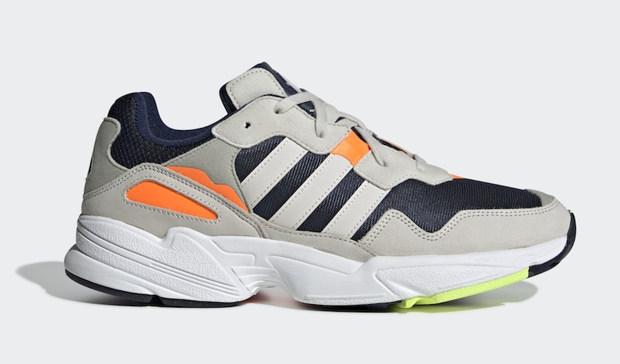 adidas Yung-96 Bleu/Blanche-Orange F35017