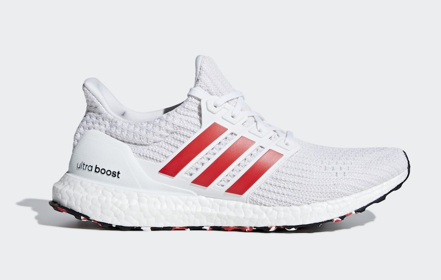 adidas Ultra Boost 4.0 Blanche/Rouge-Blanche DB3199