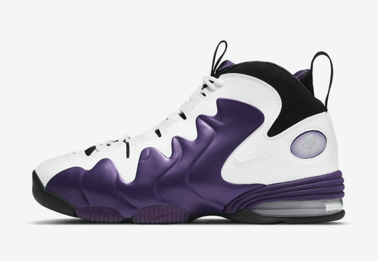 "Nike Air Penny 3 ""Eggplant"" Eggplant/Blanche-Noir-Blanche CT2809-500"
