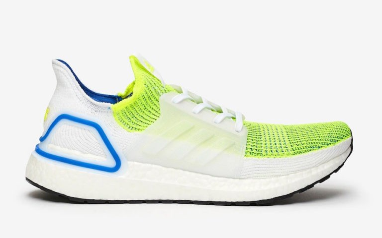 """SNS x adidas Ultra Boost 2019 """"Special Delivery"""" Jaune/Blanche FV6012"""