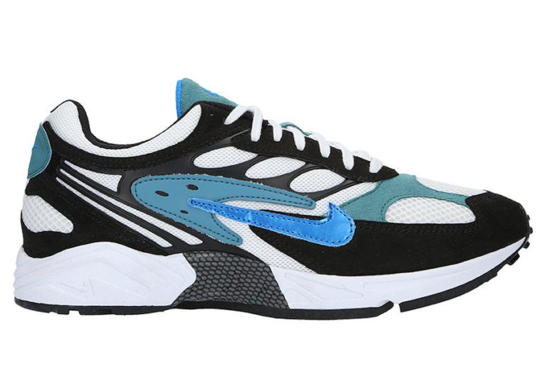 Nike Air Ghost Racer Noir/Mineral Teal-Noir-Bleu AT5410-004