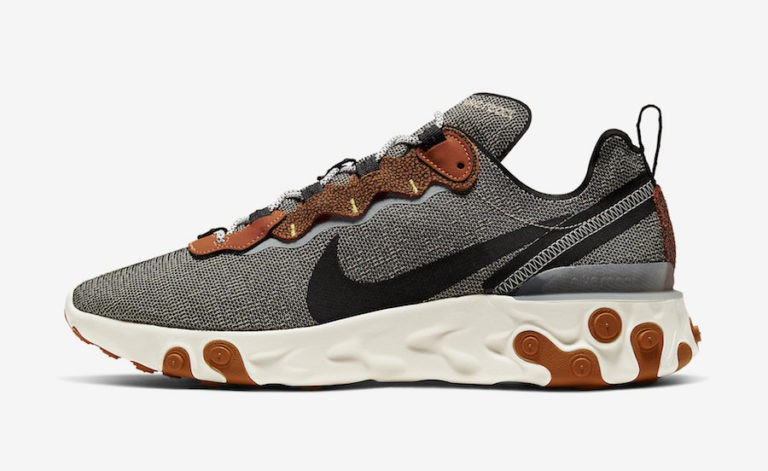 "Nike React Element 55 ""Safari Pack"" Marron CD2153-200"