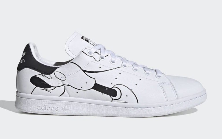 Mickey Mouse x adidas Stan Smith Blanche FW2895