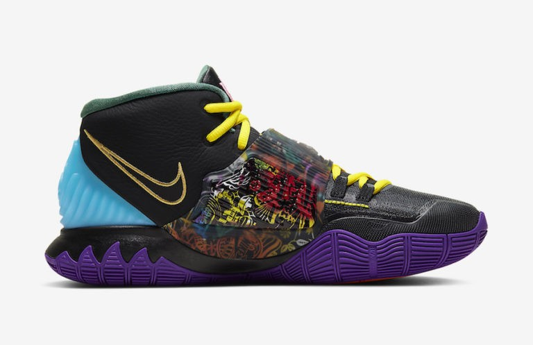"""Nike Kyrie 6 """"Chinese New Year"""" Noir CD5029-001"""