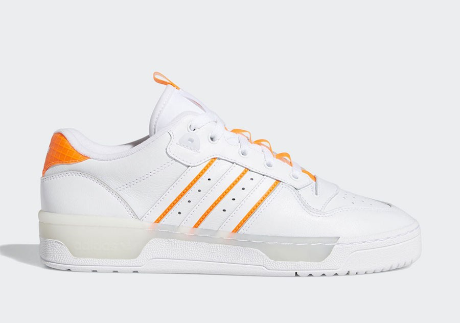 adidas Rivalry Low Blanche Orange EE4965