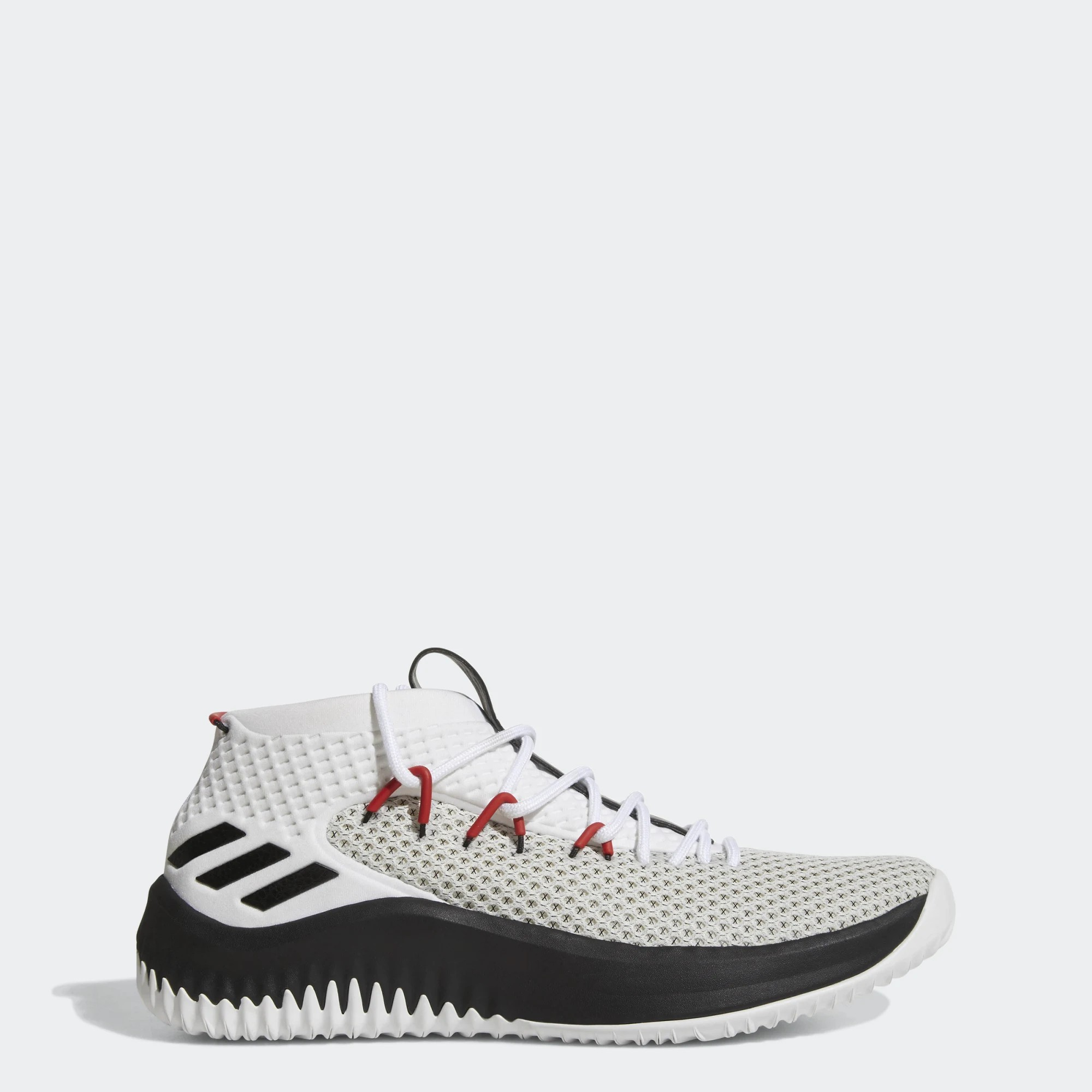 adidas Dame 4 Rip City Homme By3759 Noir Blanche Rouge