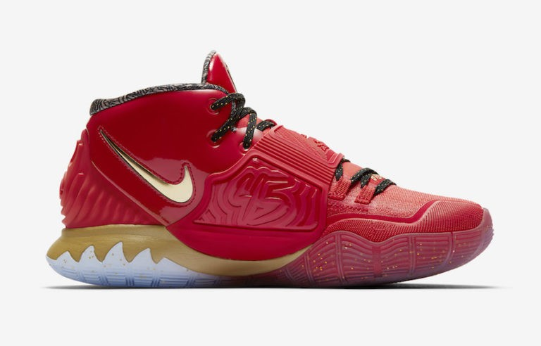 Nike Kyrie 6 All Star Trophies Rouge Or CD5026-900