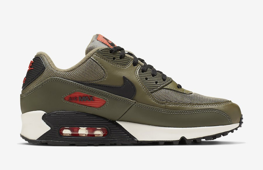 Nike Air Max 90 Leather Homme Chaussures 302519 014 Noir