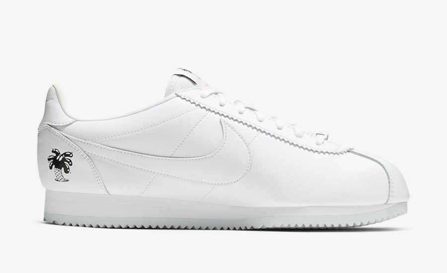 """Nike Cortez """"Earth Day"""" Low Blanche CI5548-100"""