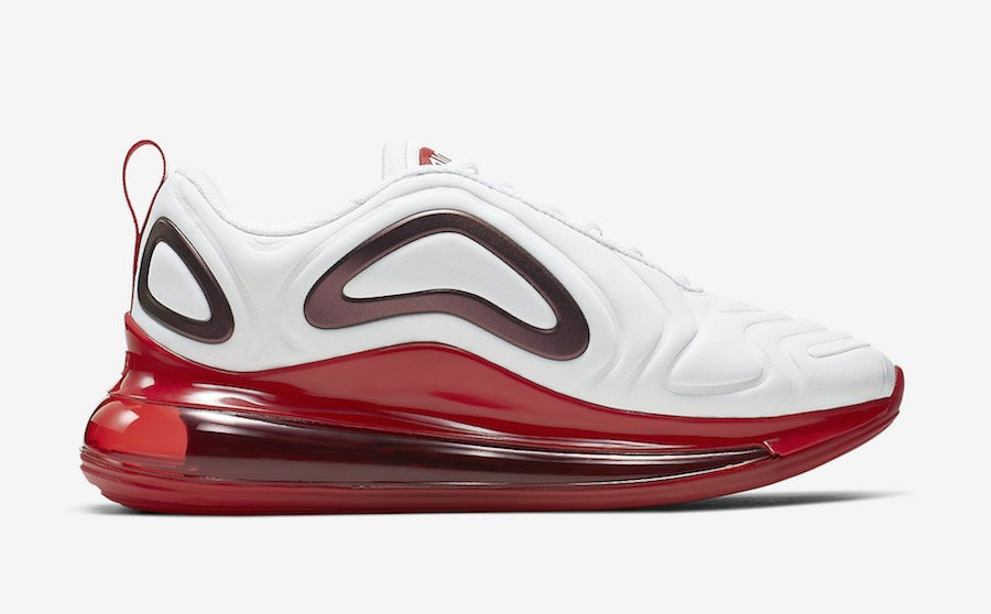 Femme Air Max 720 'Blanche Rouge' - Nike - CD2047-100