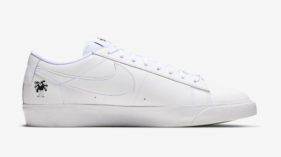 "Nike Blazer Low ""Earth Day"" Blanche Earth Day CI5546-100"