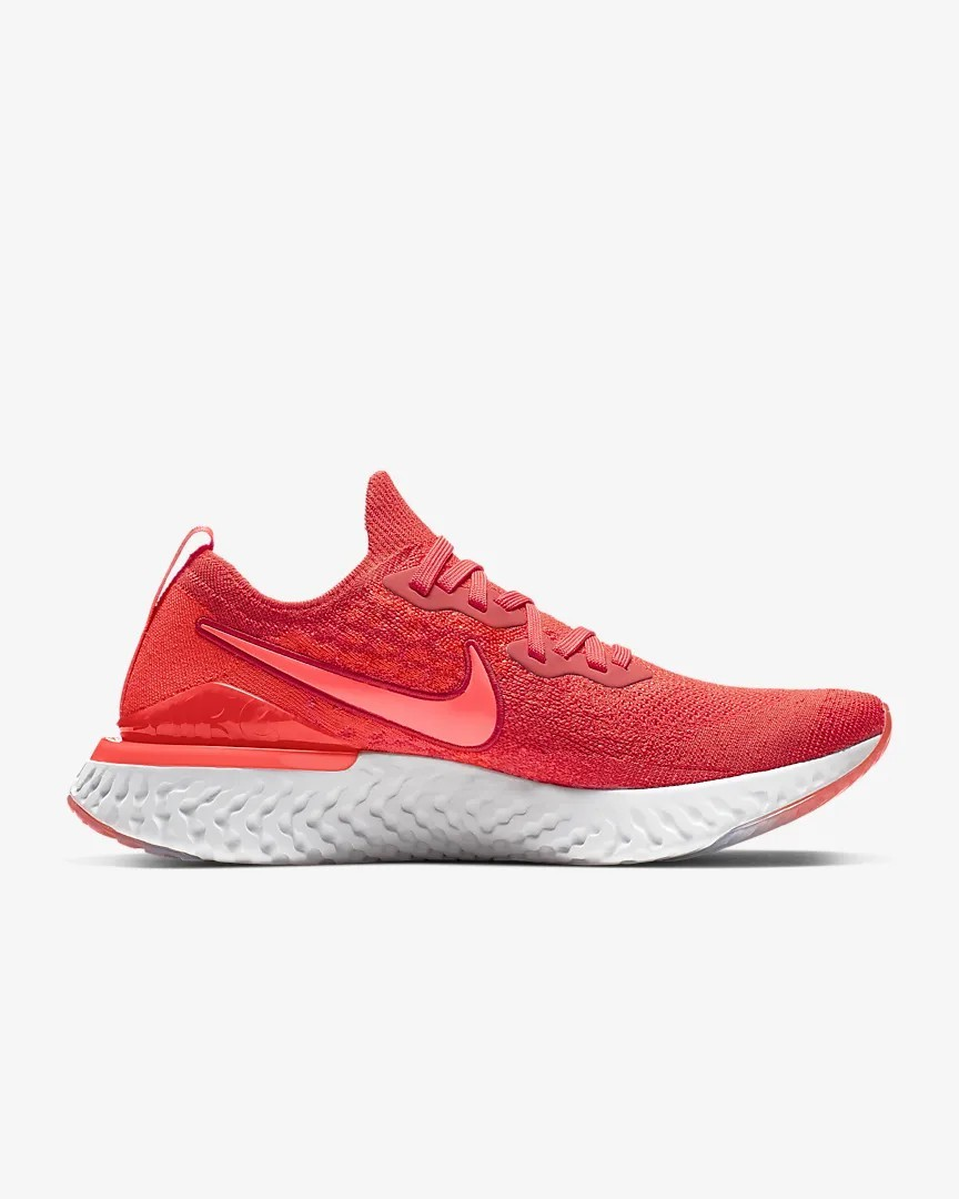 BQ8928-601 Nike Epic React Flyknit 2 Chile Rouge