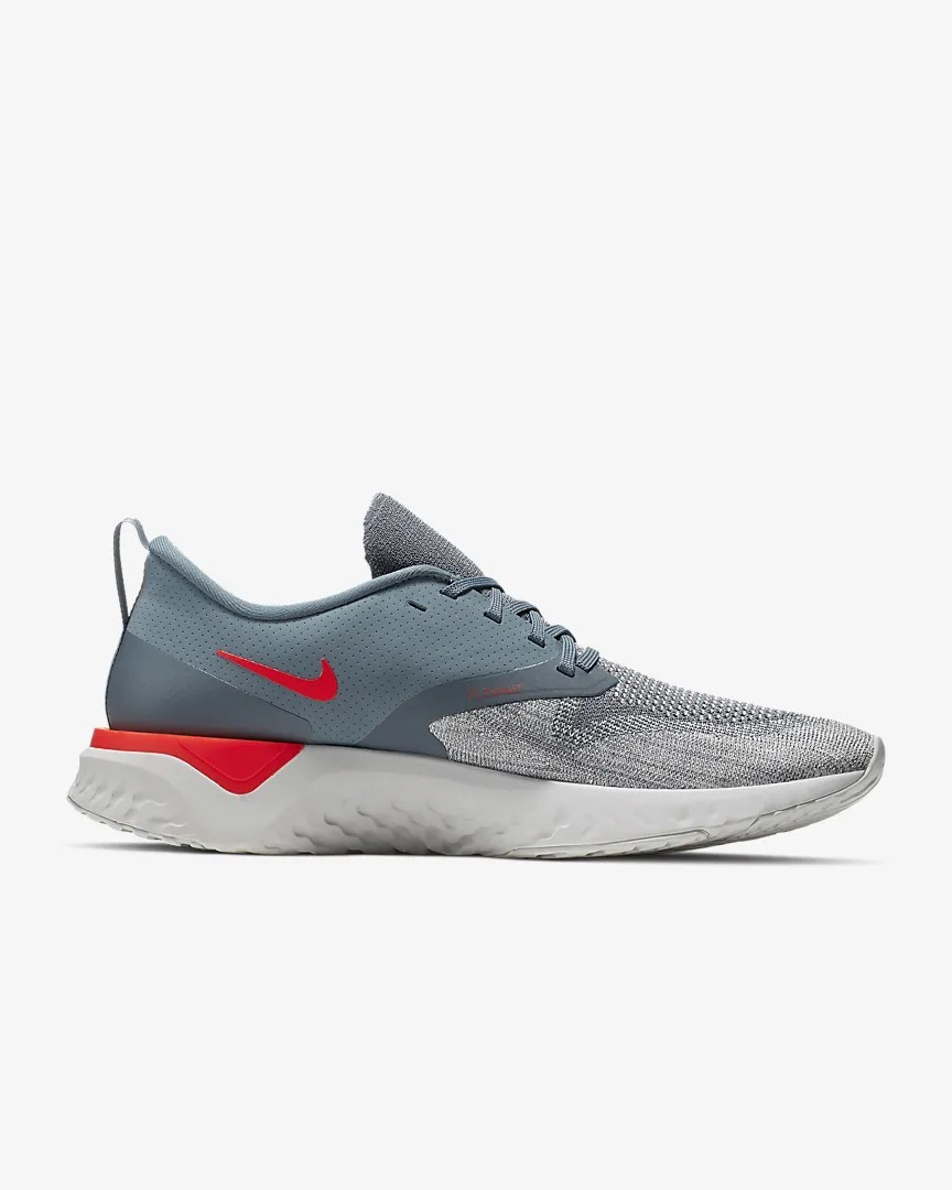 Nike Homme Odyssey React 2 Flyknit Fonctionnement Chaussures Gris AH1015-403