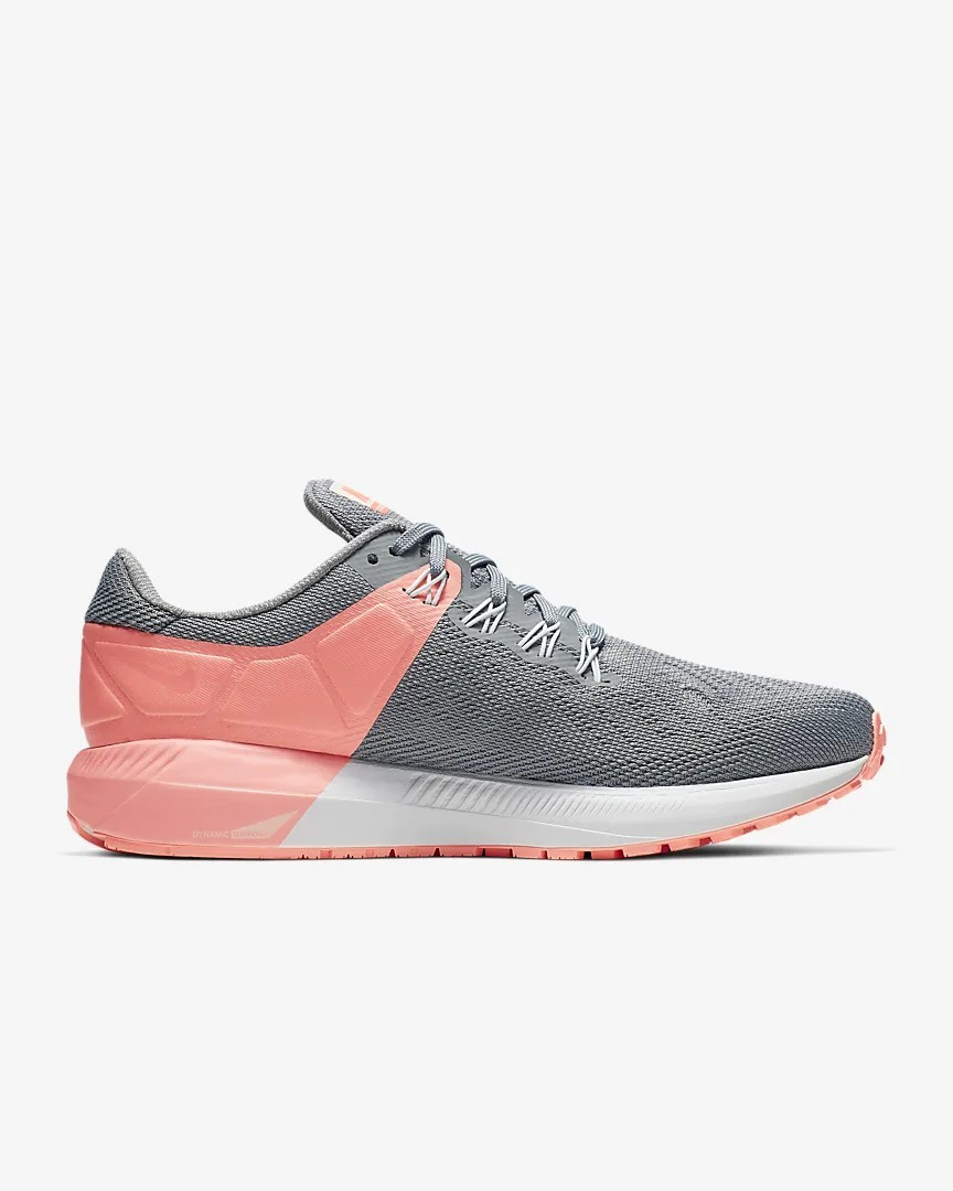 Nike Zoom Structure 22 Femme Chaussures Gris/Lava AA1640-005