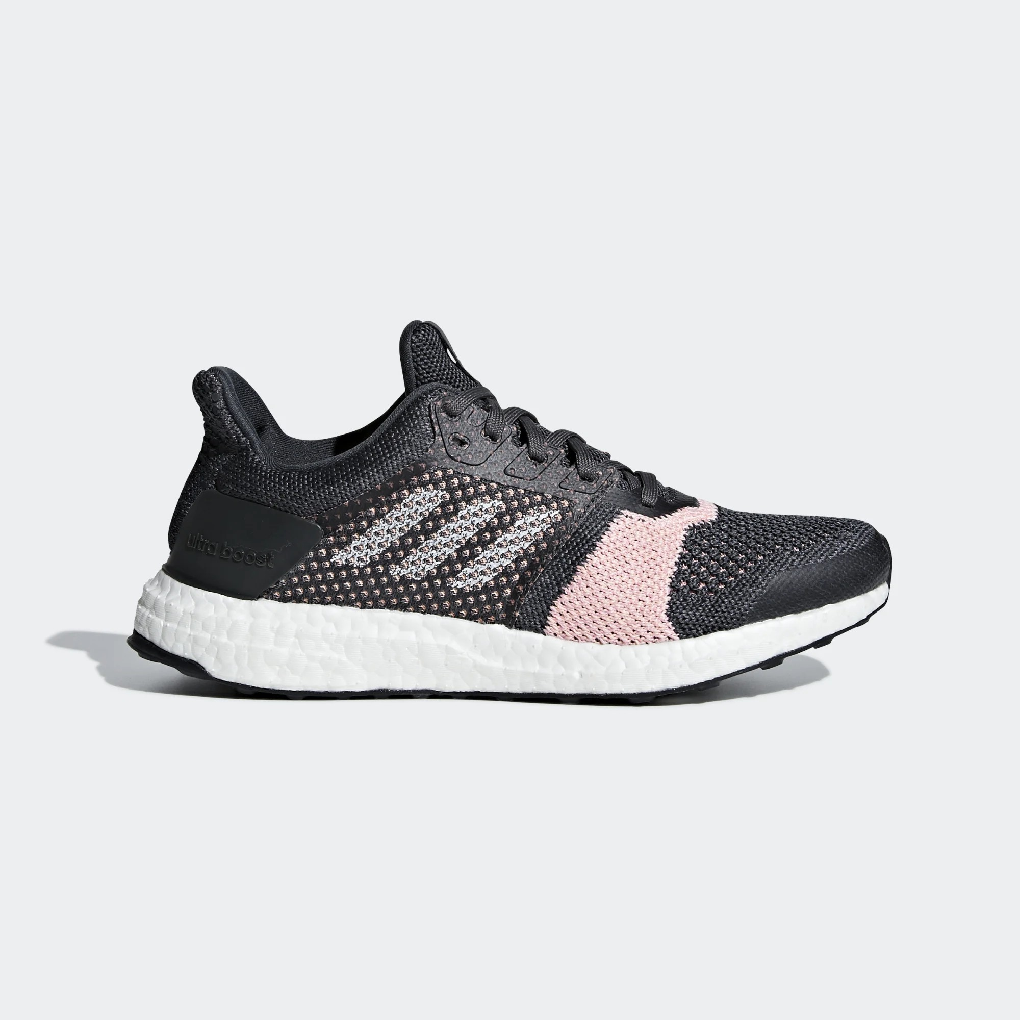 Adidas Femme Ultra Boost ST Carbon/Blanche/Gris B75864