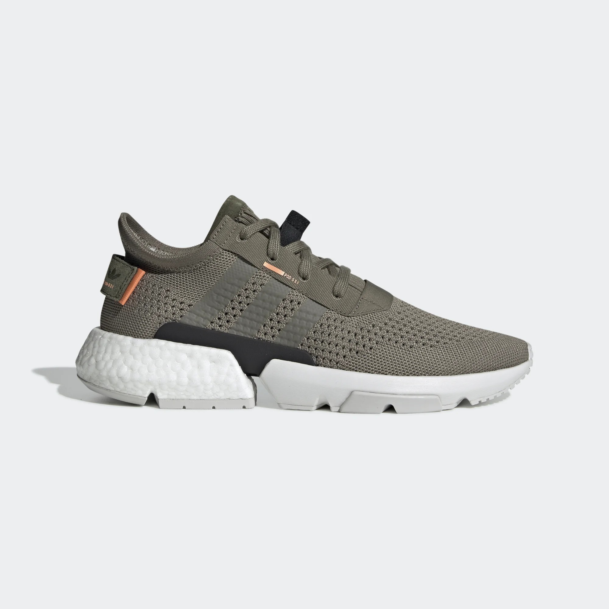 adidas Originals Pod-S3.1 Boost Steel Orange Blanche Homme BD7878