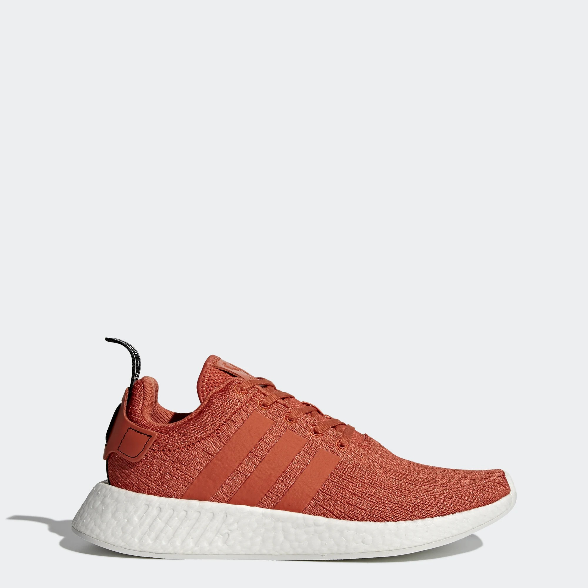Homme adidas NMD R2 Future Harvest Burnt Orange Blanche By9915