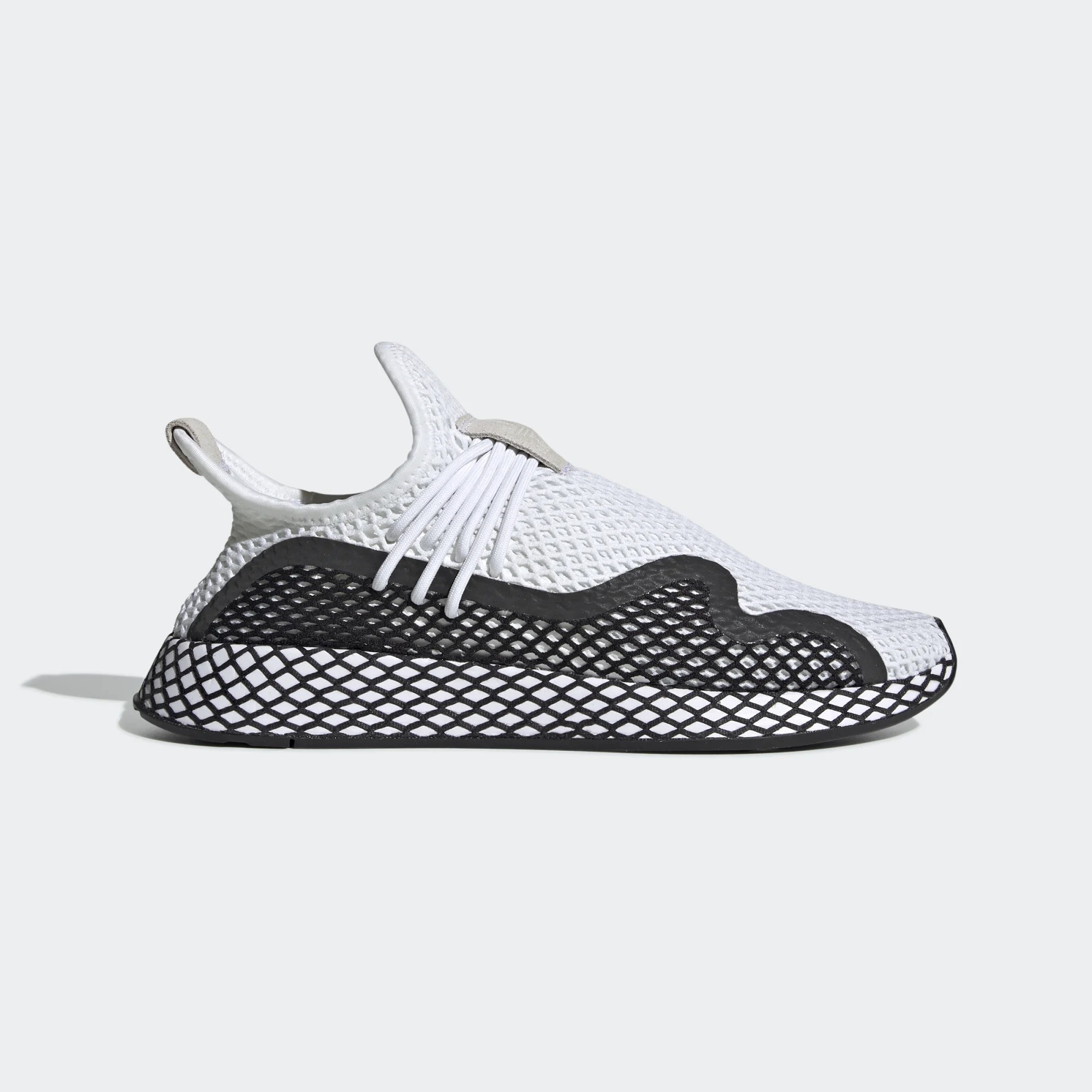 adidas Originals Deerupt New Runner Blanche Sneakers BD7874