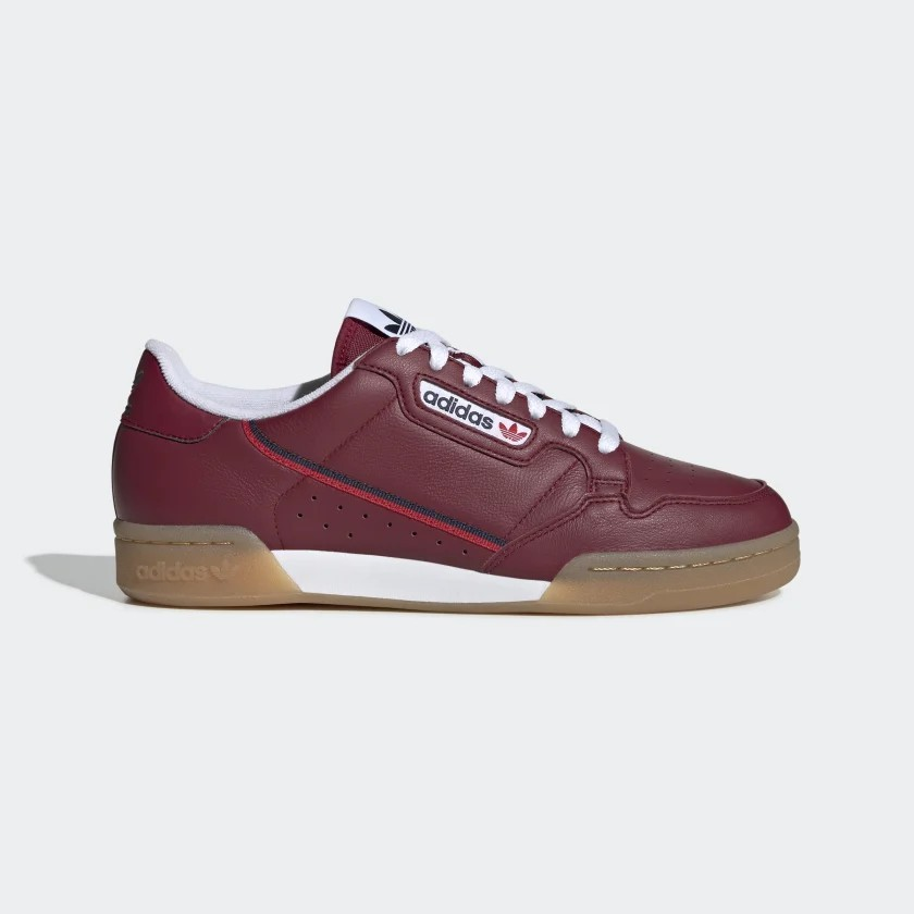 adidas Continental 80 Chaussures - Burgundy EE5394