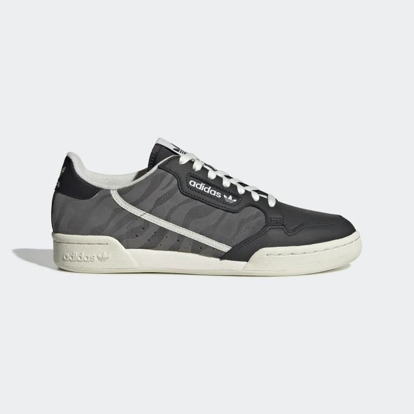 Adidas Trainers Homme Continental 80 Noir Camo EF8993