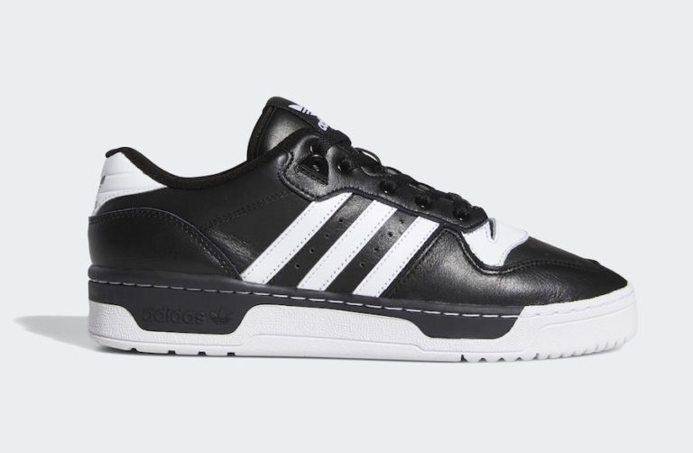 Rivalry Low Noir/Blanche-Blanche - EG8063 - Adidas