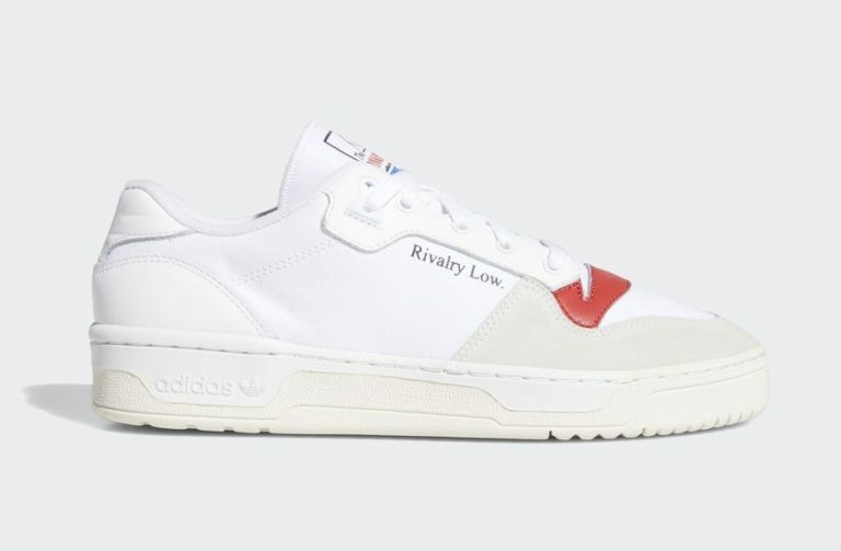 Adidas Rivalry Low EF6418 Blanche/Blanche-Rouge