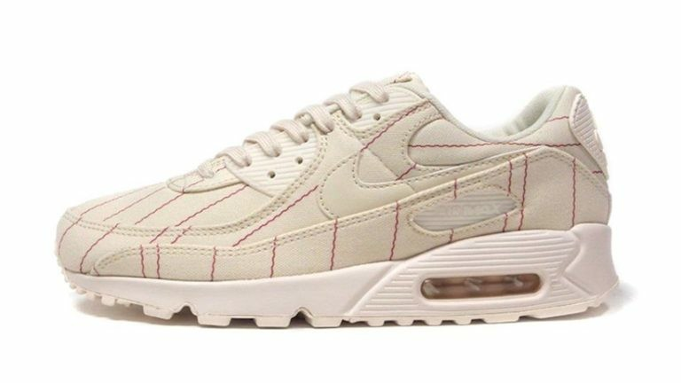 Nike Air Max 90 NRG CZ5593-100 Natural/Blanche-Rouge-Pale Ivory