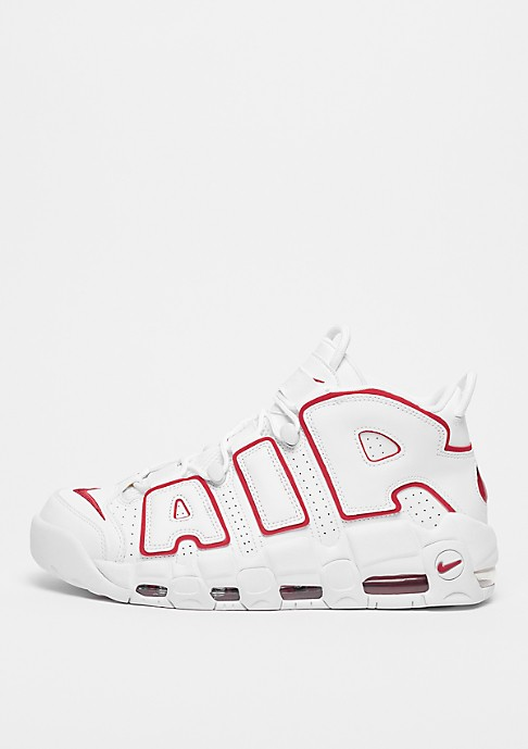 Nike Air More Uptempo 96 Blanche/Rouge/Blanche 921948-102