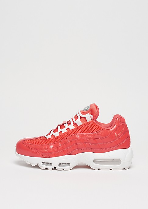 Nike Femme Air Max 95 Premium Rouge/Rouge-Blanche 807443-802