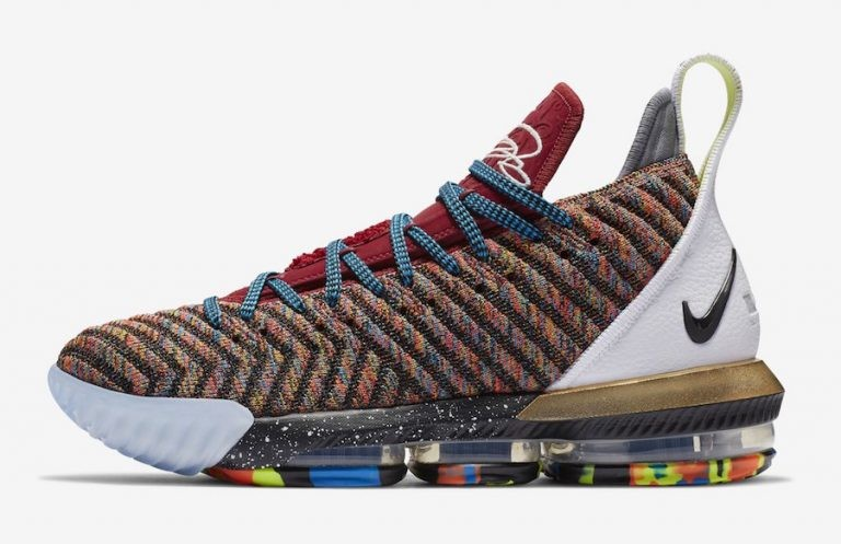 "Nike LeBron 16 LMTD ""Starting 5"" Multi-Color/Multi-Color BQ6580-900"
