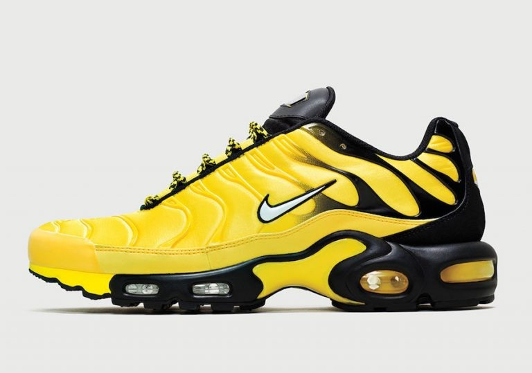 "Nike Air Max Plus ""Frequency Pack"" Jaune/Blanche-Noir AV7940-700"