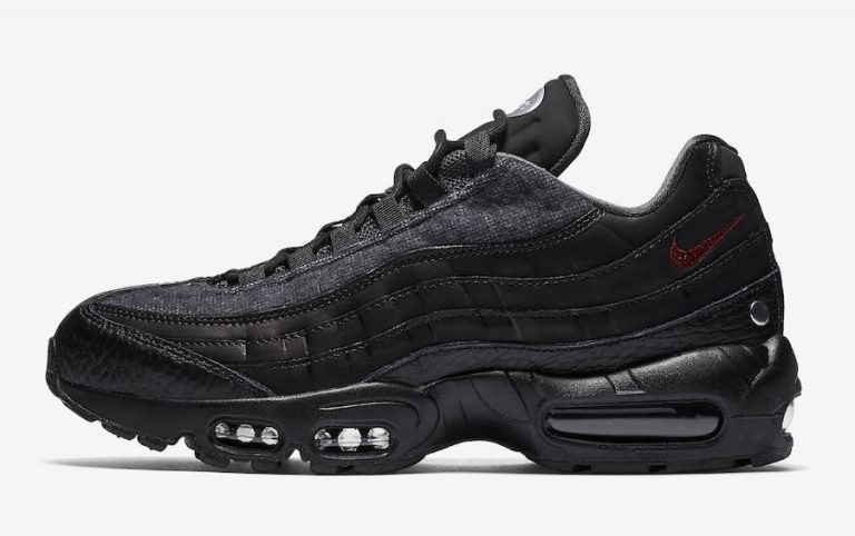"Nike Air Max 95 NRG ""Jacket Pack"" Noir/Rouge-Noir AT6146-001"