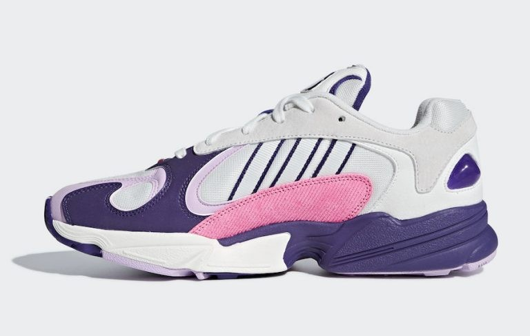 "Dragon Ball Z x Adidas Yung-1 ""Frieza"" Blanche/Violet-Violet D97048"