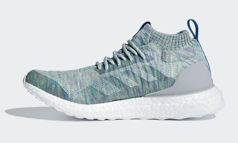 Adidas Ultra Boost Mid Gris/Blanche-Multicolore G26844