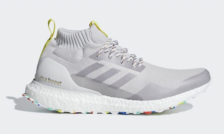 Adidas Ultra Boost Mid Blanche/Mutlticolor-Gris G26842