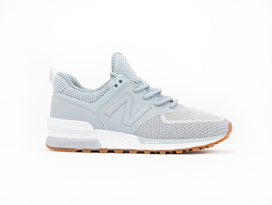 New Balance 574 Sport Synthetic Gris WS574WB
