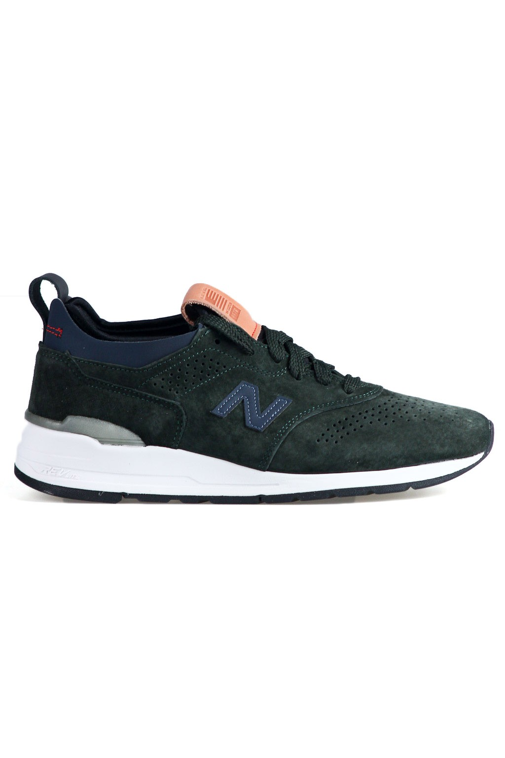New Balance Homme 997R M997HB2 Made in USA Vert Bleu