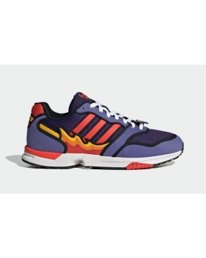 """The Simpsons x Adidas ZX 1000 """"Flaming Moe's"""" Violet H05790"""