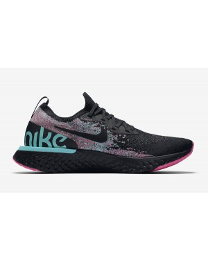 new product bedae 9b811 Nike Epic React Flyknit Noir Multi-Color BV1572-001 ...